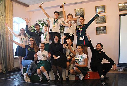 Команда во Владимире на соревновании