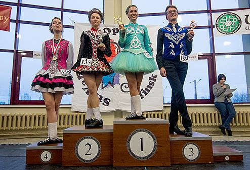 призовое место на соревновании в Минске